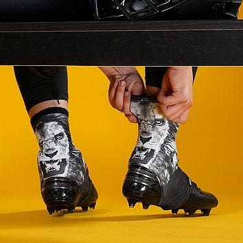 Black Lion Spats / Cleat Covers