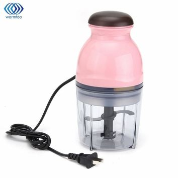 Mini Multifunctional Electric Meat Grinder Food Processor Baby Food Mixing Machine Fruit Vegetable Milk Shake Household 250W