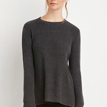 Chunky Knit Zippered Sweater