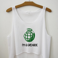 I'm a grenade - Hipster Tops