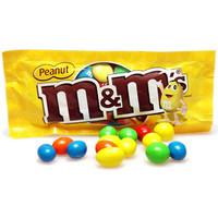 M&M's Candy Packets - Peanut: 48-Piece Box
