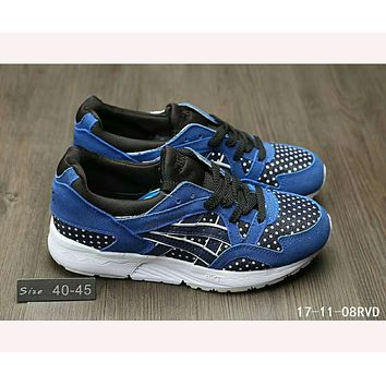 """ASICS GEL LYTE"" TRENDING Sneakers Running shoes Gray shoes F-HAOXIE-ADXJ  Blue"