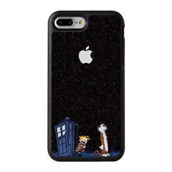 Calvin And Hobbes Apple Tardis iPhone 8 Plus Case