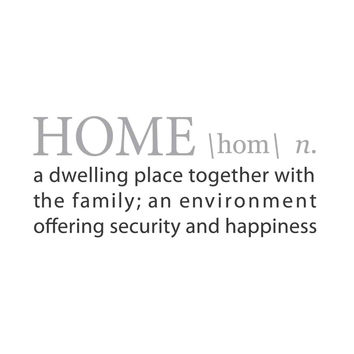 HOME: A Definition for SAFE HAVEN