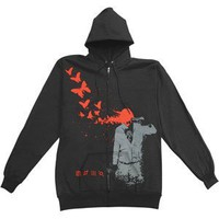 30 Seconds To Mars - Hooded Sweatshirts - Zippered Band
