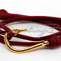 Dark Red Paracord
