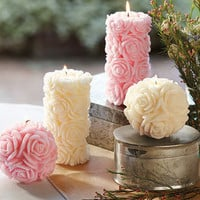 Napa Valley Rose Candles