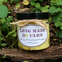 Long Hair DO Care. Organic hair-growth stimulating mask/ hot oil treatment.