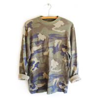 FADED CAMO THERMAL from GET HIGH WAISTED