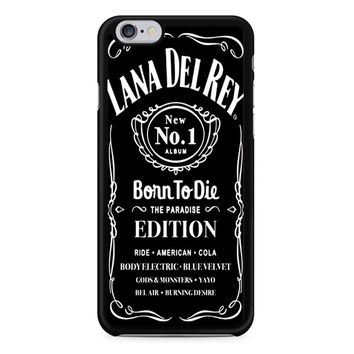 Lana Del Rey Born To Die Black iPhone 6/6s Case