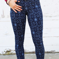 Big Star 'Geometric Spark' Skinnies