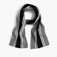 crewcuts Boys Striped Cashmere Scarf