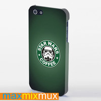 Star Wars Coffee iPhone 4/4S, 5/5S, 5C Series Full Wrap Case