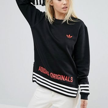 adidas Originals Oversized Sweatshirt With Originals Logo at asos.com