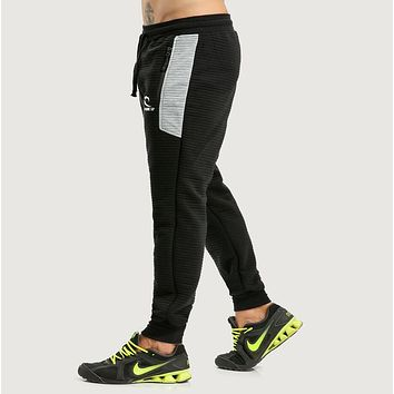 SEA PLANETSP 2017 Men Pants Mens Casual Elastic cotton Pants Mens Fitness Gyms Pants skinny,Sweatpants Trousers Jogger Pants