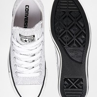 Converse Knit Light Grey Chuck Taylor All Star Low Trainers
