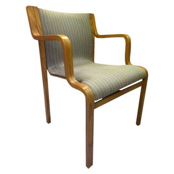Pre-owned Mid-Century Bentwood Stendig Chairs - A Pair
