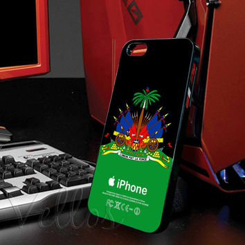 Haitian Flag for iphone 4/4s case, iphone 5/5s/5c case, samsung s3 i9300 case, samsung s4 i9500 case cover in vellos