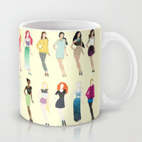 Fairy Tale Fashion Mug by Lazy Daisy