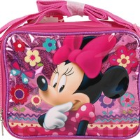 Disney Minnie Mouse Shine Pink Soft Lunch bag/Box