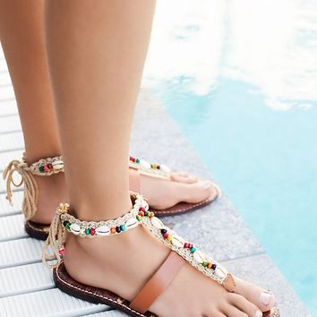 Free People Ancient Memories Wrap Sandal