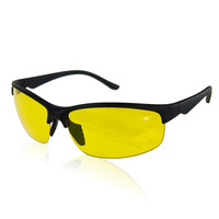 New arrival High Definition Night Vision Glasses Driving Sunglasses Yellow Lens Classic UV400 free shipping