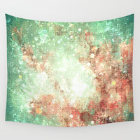 green summer  by healinglove Wall Tapestry by Healinglove Art Products