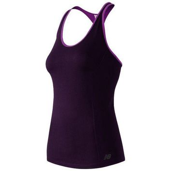 DCCK1IN new balance get back scoopneck racerback workout tank women s size