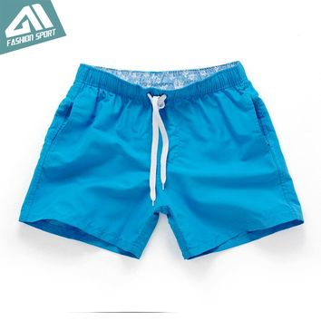 New Summer Sexy Beach Men's Shorts Leisure Sport Running Jogger Shorts Fast Dry Sea Surf Holiday Men's Board Shorts Male PF55