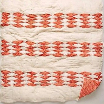 NWT Anthropologie Dotted Ikat Quilt - KING