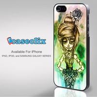 Rainbow Day of The Dead Girl for Smartphone Case