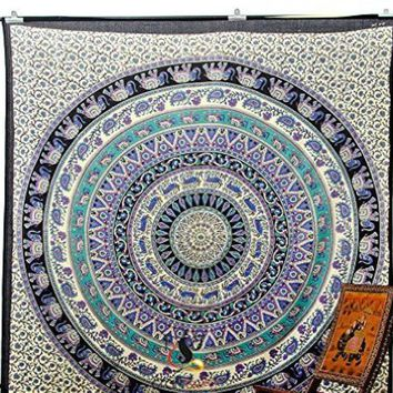 ONETOW #a Mandala Indian Boho Wall Carpet Beach towel square tapestry and beach mat fashion vogue Rug Beach mat china style Cape