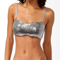 Sequin Bandeau Convertible Bra