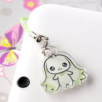 Cute Terriermon Acrylic Charm. Digimon!