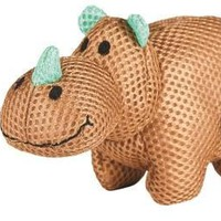 Lil Roamers Mesh Rhino Dog Toy