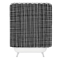 Caroline Okun Obsidian Shower Curtain