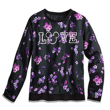 Mickey Mouse Athletic Long Sleeve Top for Women by Disney Boutique | Disney Store