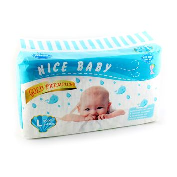 Baby Dry Diapers Economy Pack Size Large