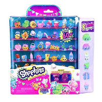 Shopkins Season 4 Glitter Collector Case with 8 Exclusive Shopkins