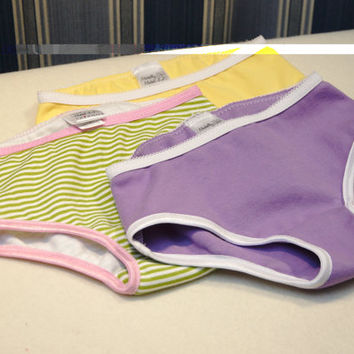 Orchid girls underwear, purple panties for toddlers, lavender underwear