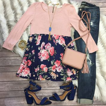 Blooming Blossoms Floral Top