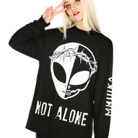 NOT ALONE LONG SLEEVE TEE