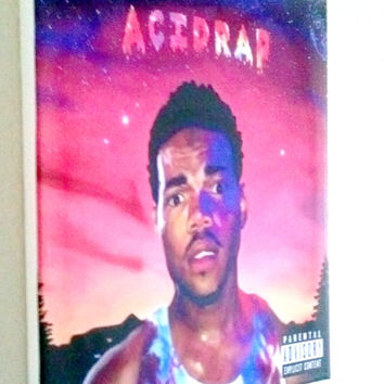 Chance the Rapper Acid rap  Album cover on 8x10 canvas rare Hip-Hop  free shipping