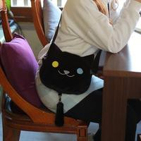 [Neko Atsume] 3 Colors Neko Cat Plush Shoulder Bag SP165085 from SpreePicky