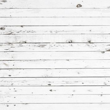 White Planks Wood Vinyl Backdrop - 8x6 - LCCRSL1936- LAST CALL