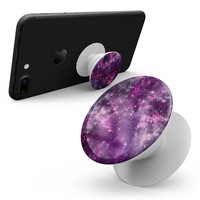 Vibrant Purple Deep Space - Skin Kit for Pop Sockets and other Smartphone Extendable Grips & Stands