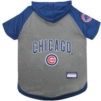 PEAPYW9 Chicago Cubs Pet Hoodie T-Shirt