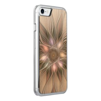 Joyful Flower Abstract Floral Fractal Art Carved iPhone 7 Case