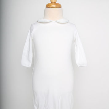 Campbell Collared Day Gown