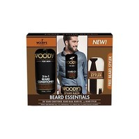 Woody's Beard Essentials Trio Kit